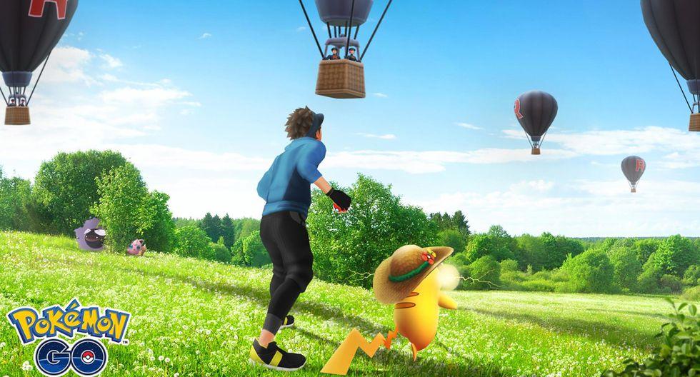 ¿Ya viste los extraños globos en el cielo de Pokémon GO? Conoce qué son y para qué sirven. (Foto: Pokémon)