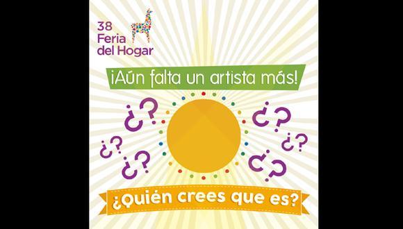 Feria del Hogar 2014: este será el artista sorpresa del evento