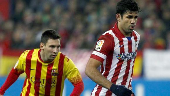 Messi vs. Diego Costa: así los vimos en el Atlético-Barcelona