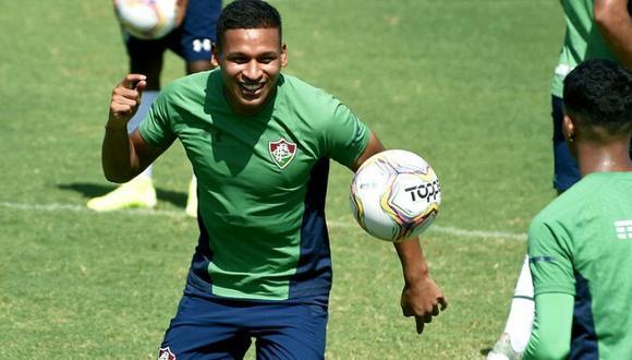 Pacheco fue fichado por el cuadro brasileño en enero. (Foto: Fluminense)