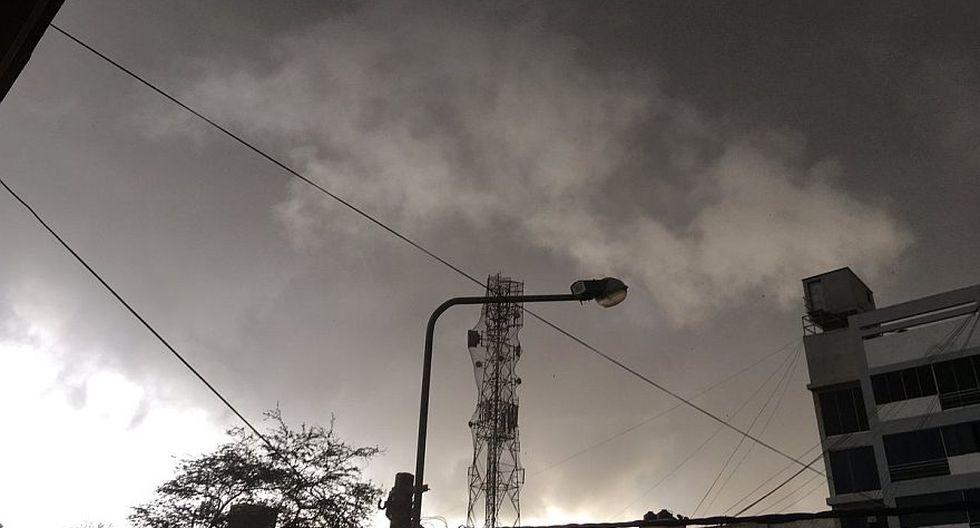 Lambayeque: inusual nubosidad oscura alarmó a chiclayanos - 4