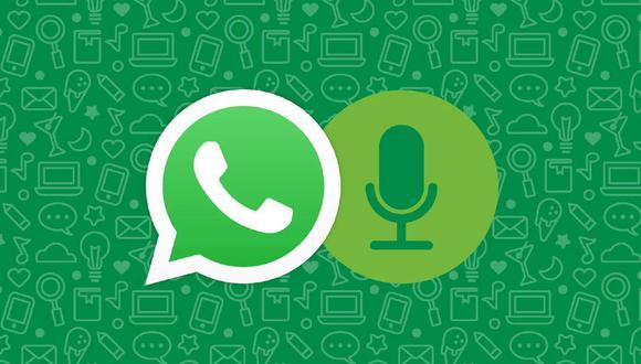 Por esta razón no debes mandar más de 30 mensajes de audio en WhatsApp o te ocurrirá esto. (Foto: WhatsApp)