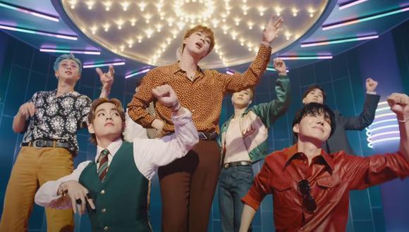 """BTS presenta """"Dynamite"""", su nuevo sencillo completamente en inglés y cargado de optimismo. (Foto: Captura de video)"""