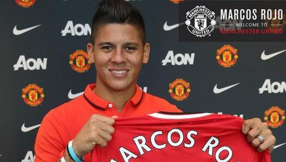 Manchester United contrata a Marcos Rojo por cinco temporadas