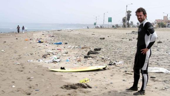 Digesa: 45 playas del litoral se encuentran contaminadas