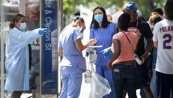 Coronavirus USA   Ultimas noticias   Último minuto: reporte de infectados y muertos en Estados Unidos hoy, martes 21 de julio del 2020   Covid-19   (Foto: EFE).