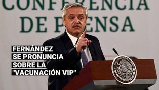 """Alberto Fernández pide terminar con la """"payasada"""" en el caso de """"vacunación VIP"""" en Argentina"""