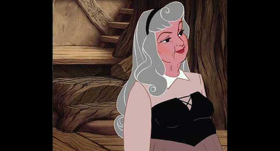 Disney: así serían las princesas en su vejez  - 14