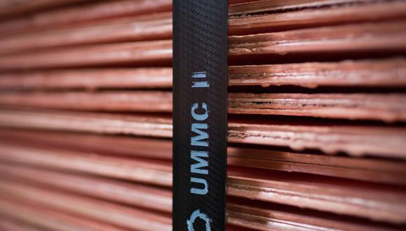 Las existencias de cobre en los almacenes registrados en la LME han aumentado un 40% durante las últimas tres semanas. (Foto: Bloomberg)