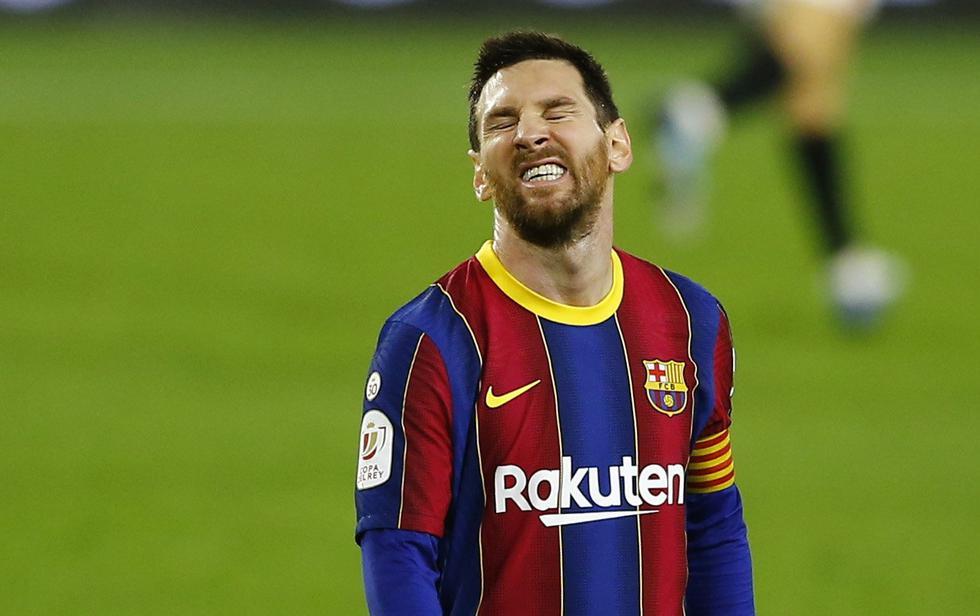 Barcelona cayó ante el Sevilla por la Copa del Rey