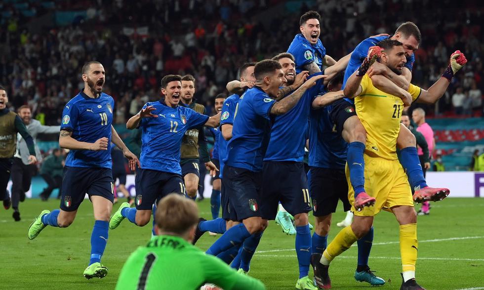 Italia vs. Inglaterra: las imágenes del partidazo en Wembley | Foto: EFE