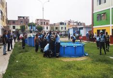 Callao: decomisan piscinas portátiles que eran llenadas con agua de hidrantes