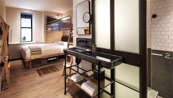 La idea de los microhoteles se ha vuelto atractiva para empresas como Marriott y Hilton. (Foto: Difusión)