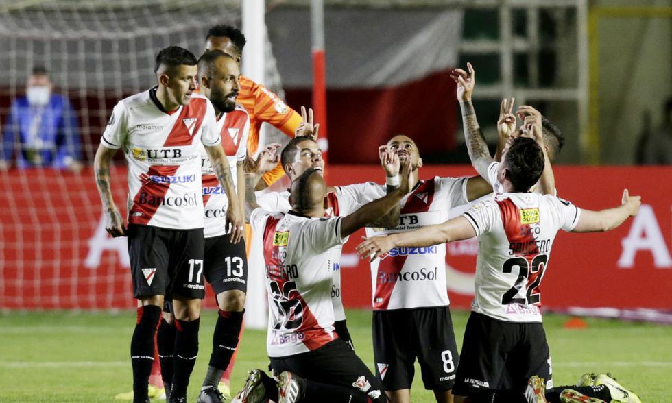 Always Ready vs. Internacional: las imágenes del duelo por la Copa Libertadores | Foto: REUTERS