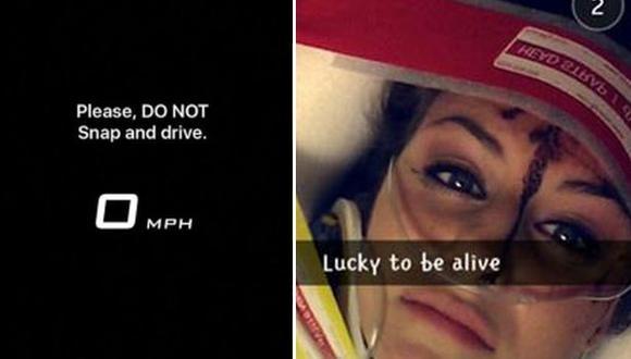 Taxista demandó a Snapchat por filtro de velocidad