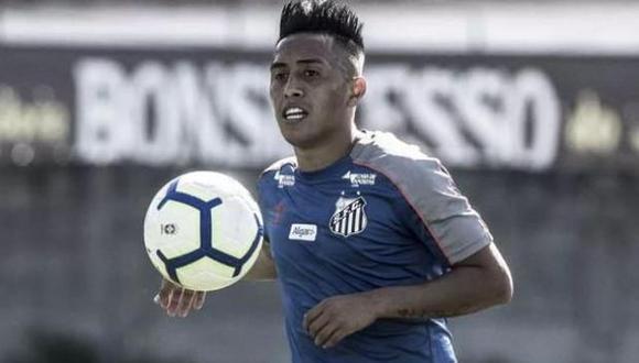 Christian Cueva jugó en Santos en 2019, pero no marcó ni un solo gol. (Foto: GEC)
