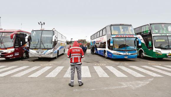 Sutrán permite a buses transitar sin señal GPS hasta por 3 días