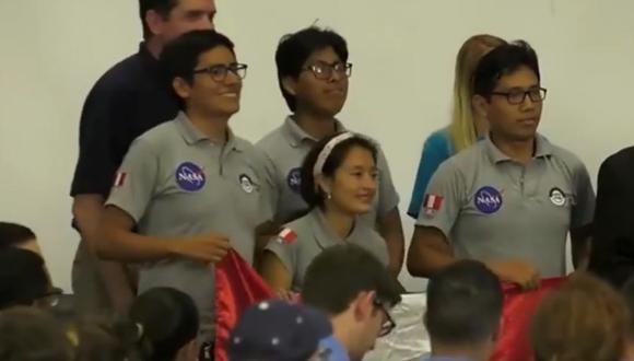 El equipo nacional explicó que el prototipo que presentaron es una propuesta para explorar la Luna. (Foto: NASA)
