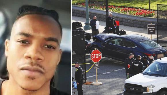 Fotografía obtenida de redes sociales de Noah Green, de 25 años. El joven estrelló su vehículo contra una barricada que resguarda el Capitolio de Estados Unidos y fue abatido a tiros tras causar la muerte de un policía y dejar a otro herido. (Reuters/EFE).