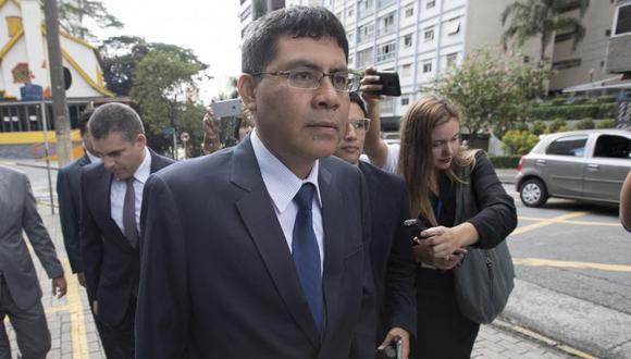 El fiscal Germán Juárez Atoche hizo las coordinaciones para entrevistar a Jorge Barata y Marcos de Moura la misma fecha. Llegó a Brasil acompañado por otros representantes del Ministerio Público. (Foto: EFE)