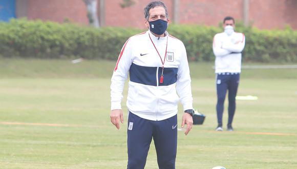 Mario Salas, entrenador de Alianza Lima | Foto: Prensa club Alianza lima