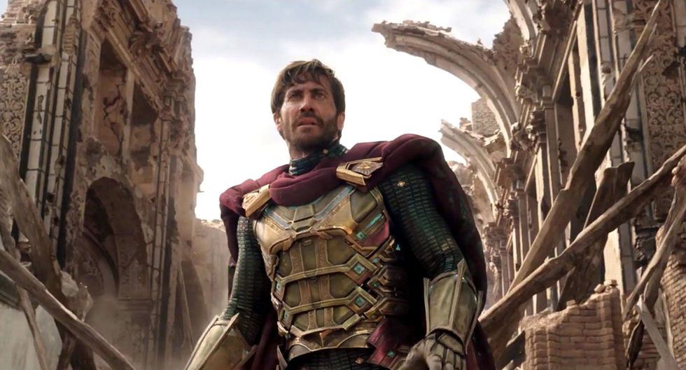 "En ""Spiderman: Far From Home"", Jake Gyllenhaal interpreta a Mysterio. Foto: Sony Pictures."