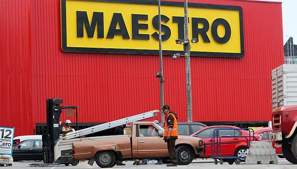 Las ventas de Maestro retrocedieron 4,7% en el primer semestre