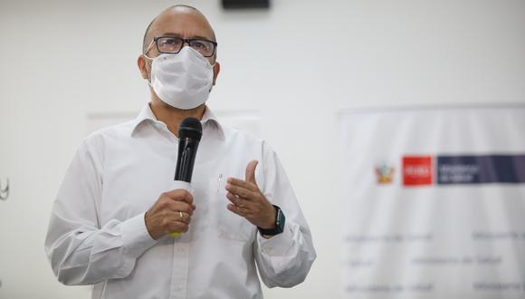 Víctor Zamora señaló que el repunte de casos positivos era una de las posibilidades que se habían previsto. (Foto: GEC)