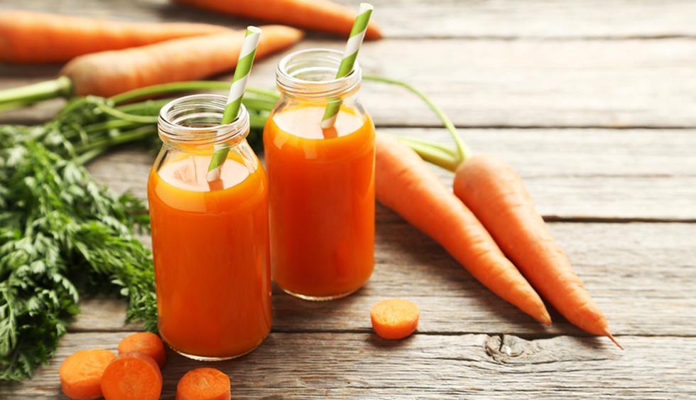 Zanahoria. Que la flacidez llegue al rostro es una amenaza constante. Pero tranquila, el betacaroteno, vitamina que encontramos en alimentos de color naranja, como la zanahoria, es capaz de frenarlo. (Foto: Shutterstock)