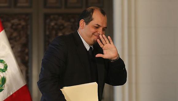 Luis Miguel Castilla deja el Ministerio de Economía y Finanzas