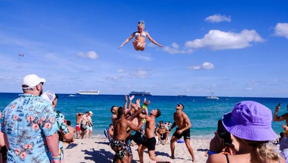 El sur de Florida se ha llenado de visitantes que llegan a pasar sus vacaciones de primavera. (Reuters).