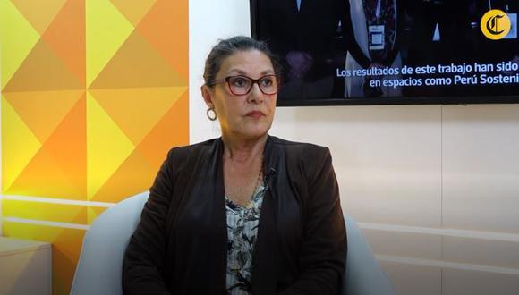 Fabiola León Velarde, presidenta de Concytec