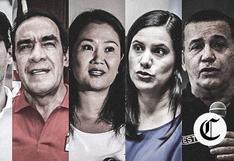 Candidatos presidenciales participan este martes en debate de El Comercio e IDEA Internacional