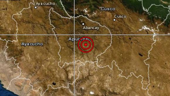No hay reporte de daños a causa del sismo. (Foto: IGP)