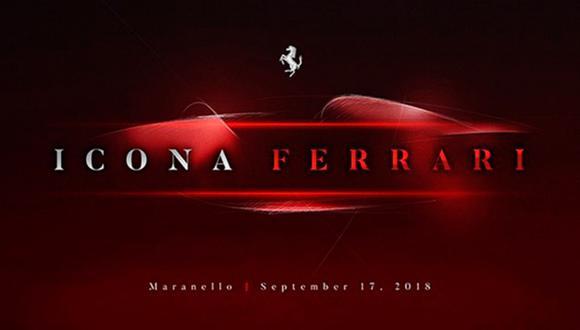 El próximo modelo de la firma italiana llegaría bajo la denominación de Ferrari Monza. (Foto: Ferrari).
