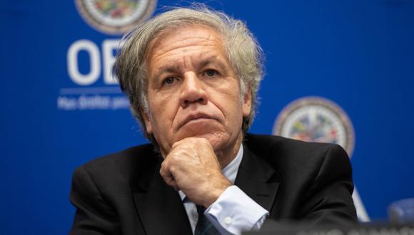 El Secretario General de la OEA, Luis Almagro, durante una conferencia de prensa en la Sede de la Organización de los Estados Americanos en Washington, DC. (Foto: Archivo / SAUL LOEB / AFP).