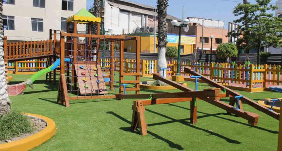 Barranco remodeló parque Antonio Raimondi  - 1