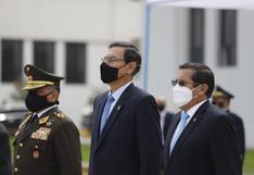 """Martín Vizcarra afirma que no cederán frente a los que se confabulan para """"socavar la democracia"""""""