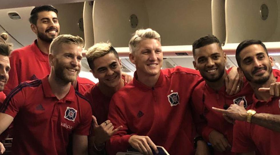 Bastian Schweinsteiger llegó a Alemania con Chicago Fire, club de la MLS. (Foto: Chicago Fire)