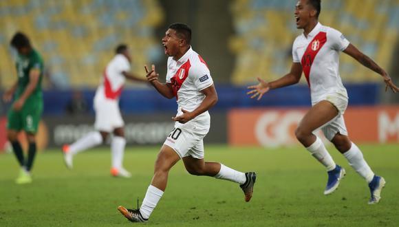 Perú vs. Bolivia: Edison Flores y el golazo para el 3-1 en el Maracaná por Copa América 2019 | VIDEO. (Foto: AFP)