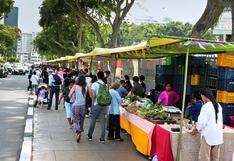 Mercado de barrio: este sábado vuelve la Bioferia de Miraflores