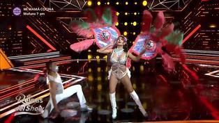 """'Reinas del show 2′: Diana Sánchez se lució en la pista de baile al ritmo de """"On the radio"""""""