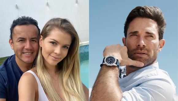 Brunella Horna comparó a su novio Richard Acuña con Sebastián Rulli. (Foto: @brunehorna/@sebastianrulli)
