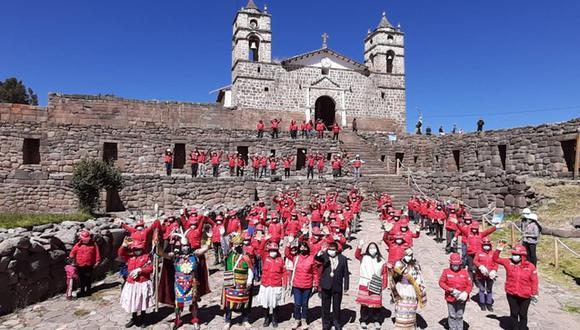 La actividad se desarrolló en la provincia de Vilcashuamán. (Foto: MTPE)