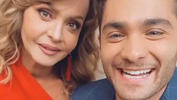 """Los actores vivirán un romance prohibido en """"Si nos dejan"""".(Foto: Carlos Said / Instagram)"""