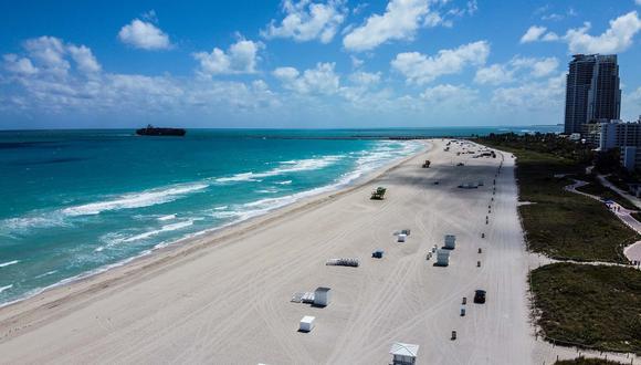 La cuarentena obligatoria en Florida entró en vigencia el jueves 2 de abril. (Foto: AFP)
