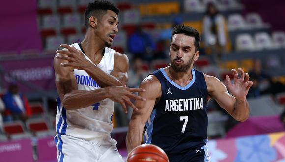 Facundo Campazzo es el nuevo líder del básquet argentino   Foto: Cesar Fajardo / Lima 2019