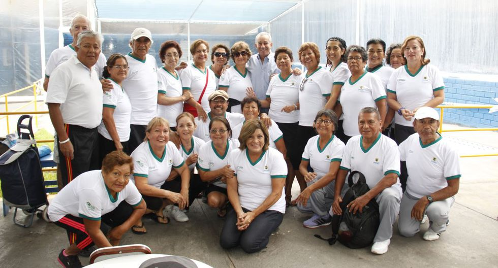 Natación y vejez saludable se juntaron en San Borja - 3