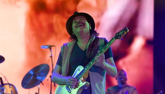 Carlos Santana. (Foto: Agencias)