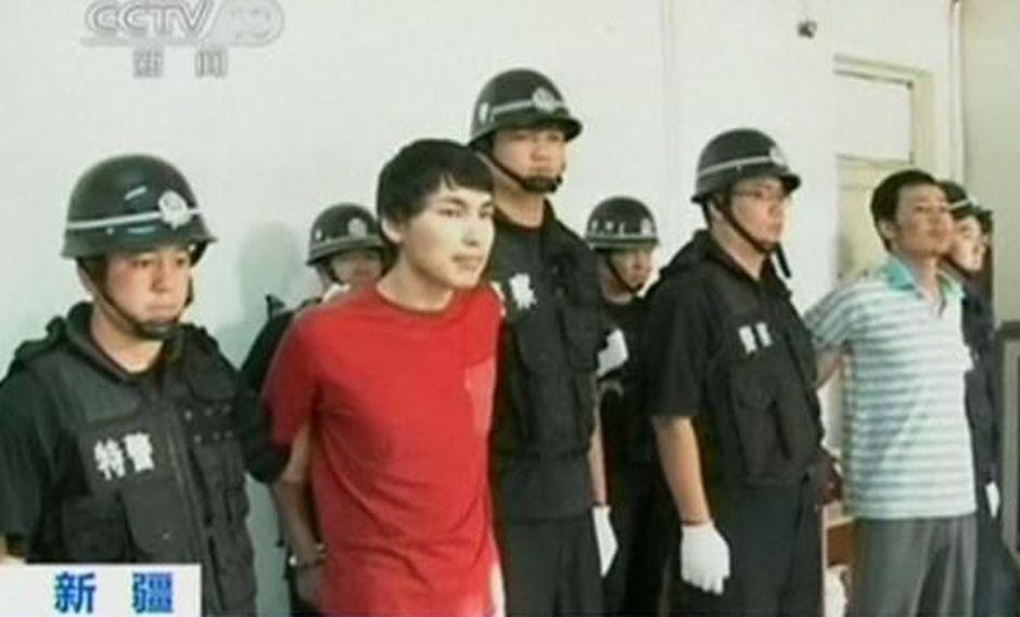 En el 2014 la justicia china dictó pena de muerte contra 13 personas acusadas de terrorismo en Xinjiang. (Archivo)